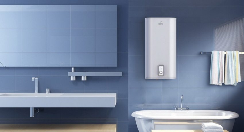 Горячая вода в радость не только зимой_правила выбора водонагревателя - вертикальная установка водонагревателя