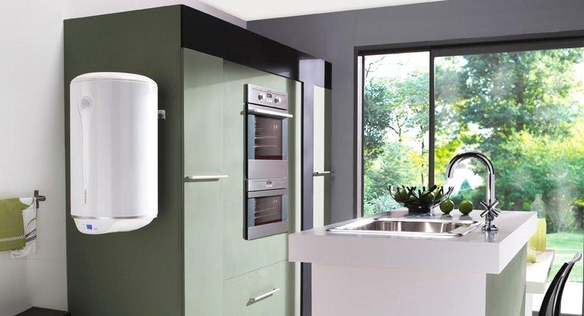 Горячая вода в радость не только зимой_правила выбора водонагревателя - водонагреватель на кухне