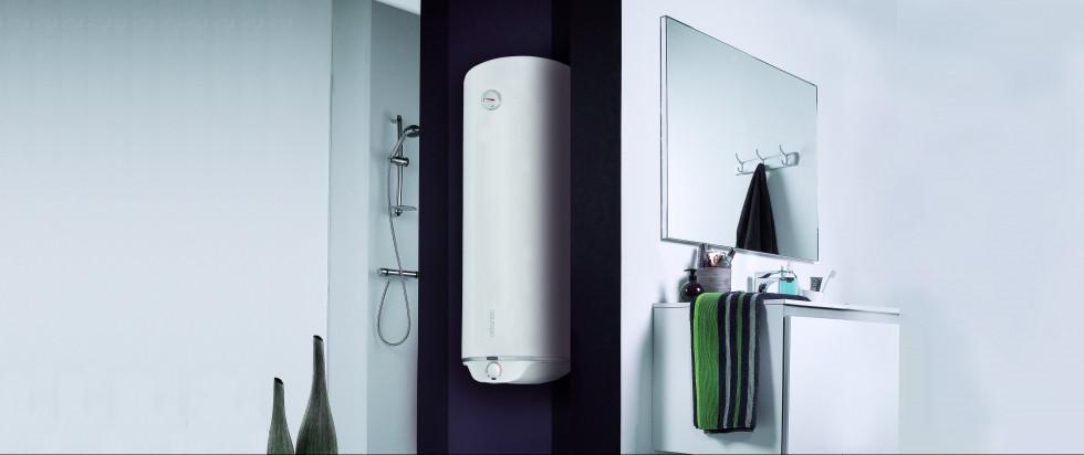 Горячая вода в радость не только зимой_правила выбора водонагревателя - водонагреватель slim