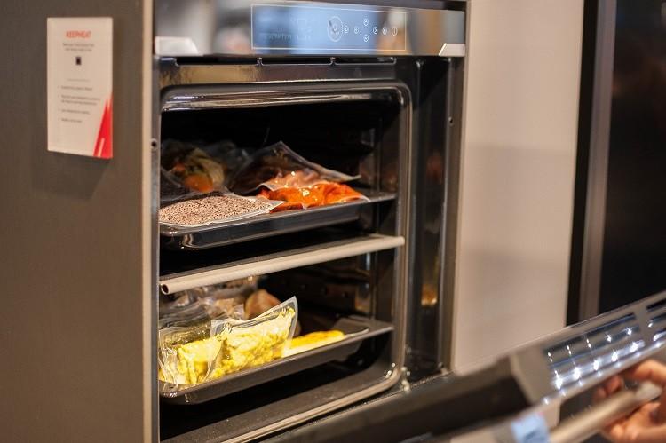 Hoover KEEPHEAT-духовой шкаф-холодильник