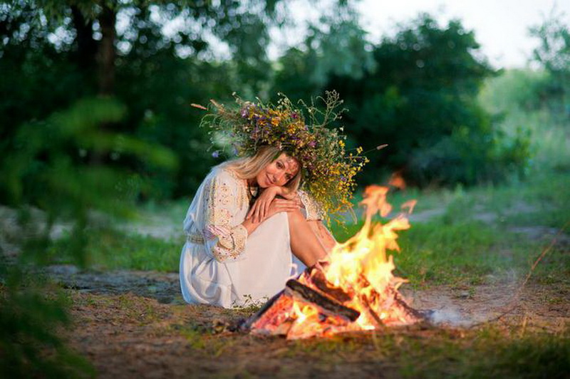 Ивана Купала-традиции фотосессия