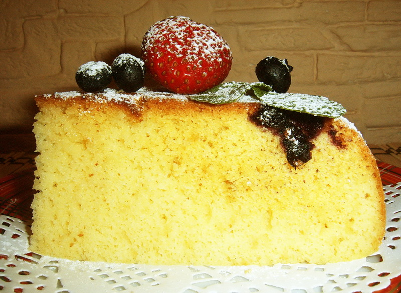 Кукурузный пирог-домашняя выпечка