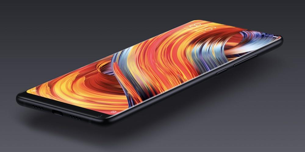 Новинка! Выдвижная фронтальная камера у Xiaomi Mi Mix 3 - смартфон сяоми в чёрном корпусе