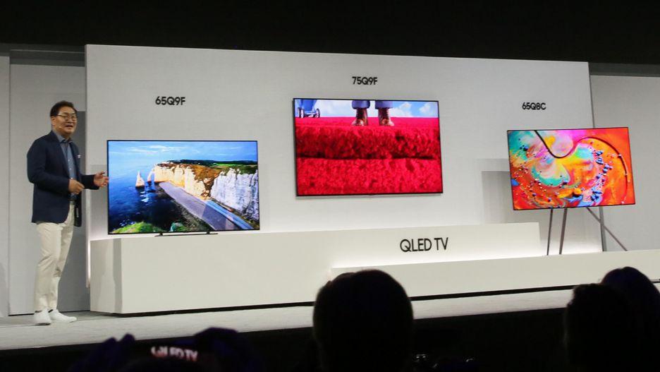 Новинки от Samsung 2018 года_телевизоры-хамелеоны уже скоро появятся в продаже - демонстрация Ambient mode