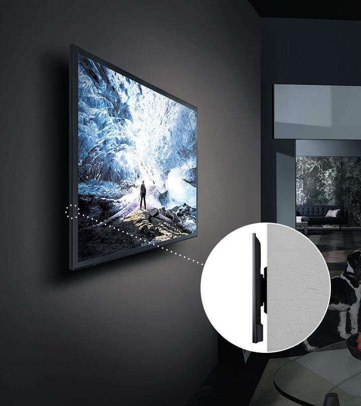 Новинки от Samsung 2018 года_телевизоры-хамелеоны уже скоро появятся в продаже - крепление no gap wall mount