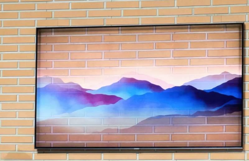 Новинки от Samsung 2018 года_телевизоры-хамелеоны уже скоро появятся в продаже - телевизор сливается со стеной
