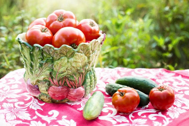Сезонные овощи-витамины