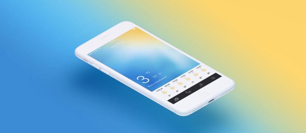 Топ-9 приложений на смартфон, которые пригодятся в быту - погода на смартфоне