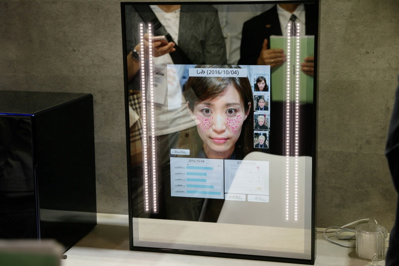 Умное зеркало-от Panasonic