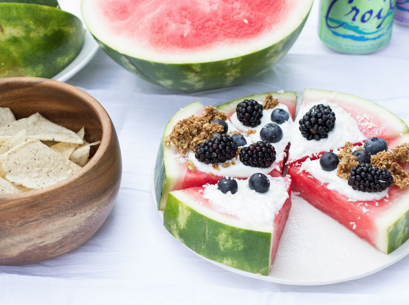 Watermelon Pizza-Recipe
