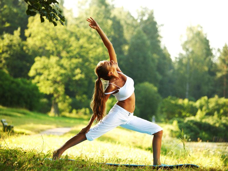 Йога-на природе