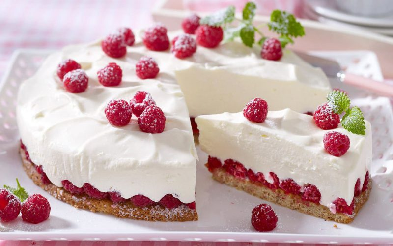 Йогуртовый торт-без выпечки