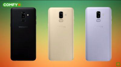 Цветовое решение Samsung Galaxy j8
