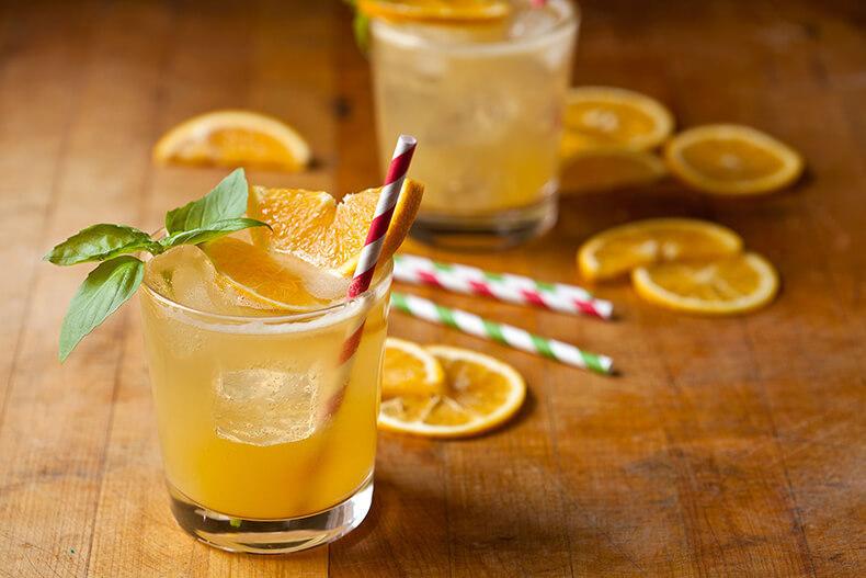 Апельсиновый лимонад-фото