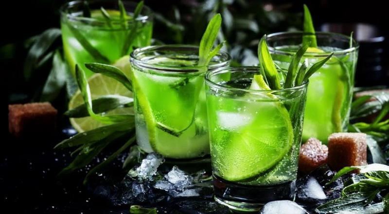 Домашний лимонный тархун-как утолить жажду