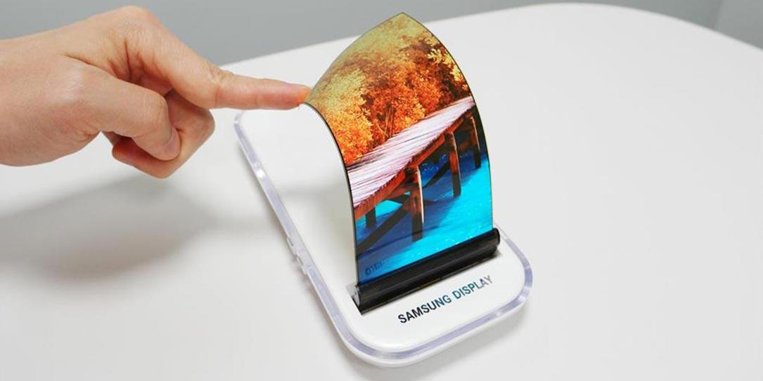 Гибкий смартфон Samsung Galaxy X 1а