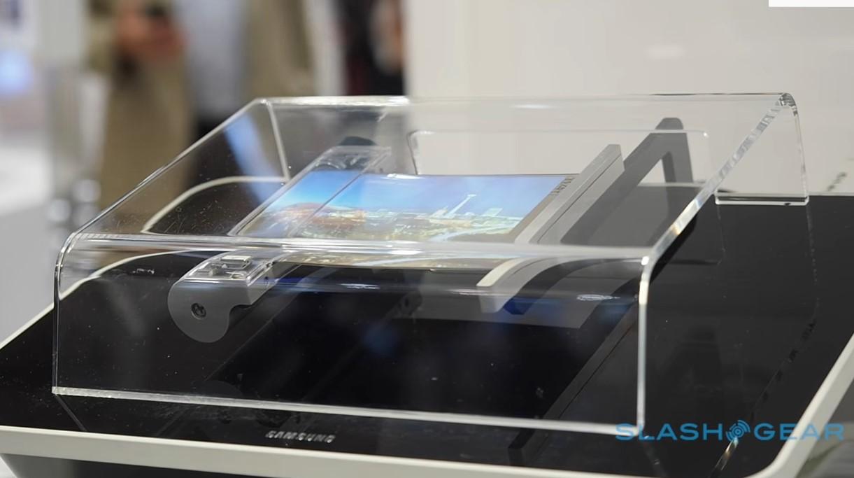 Гибкий смартфон Samsung Galaxy X 2