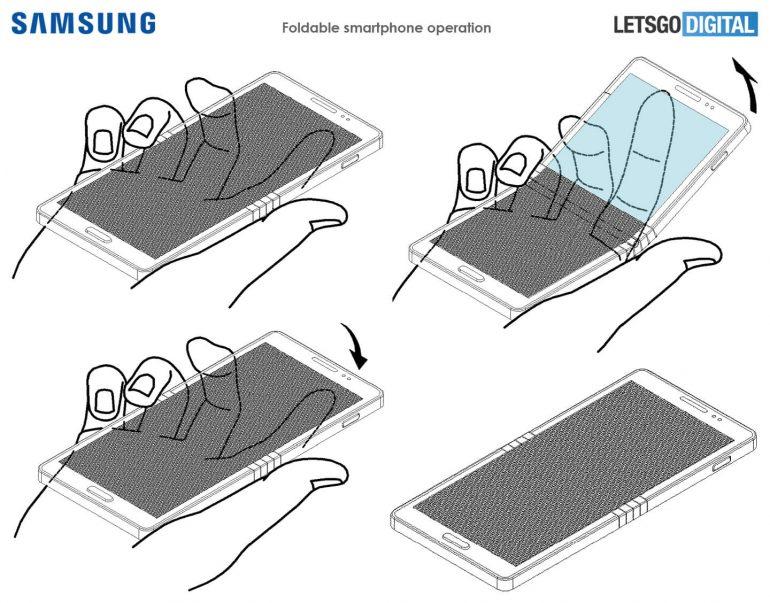 Гибкий смартфон Samsung Galaxy X 3