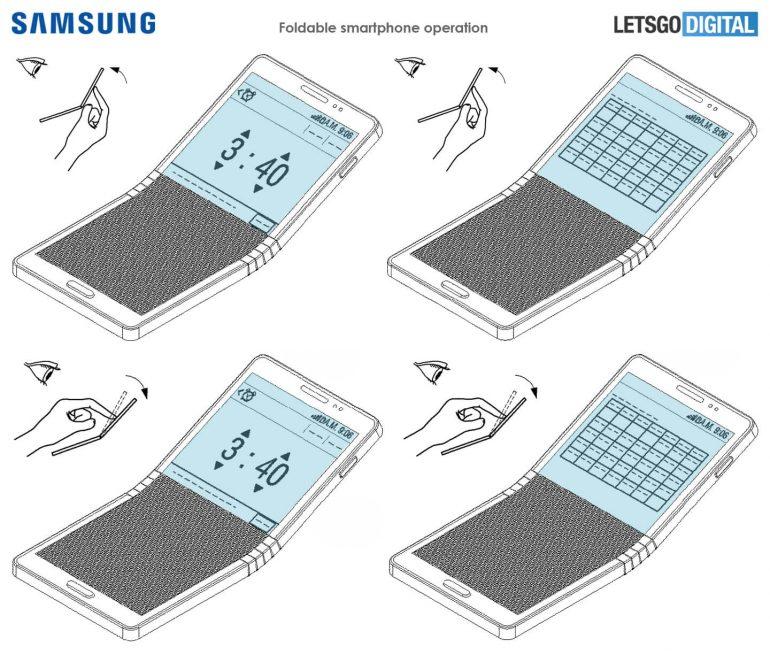 Гибкий смартфон Samsung Galaxy X 3a