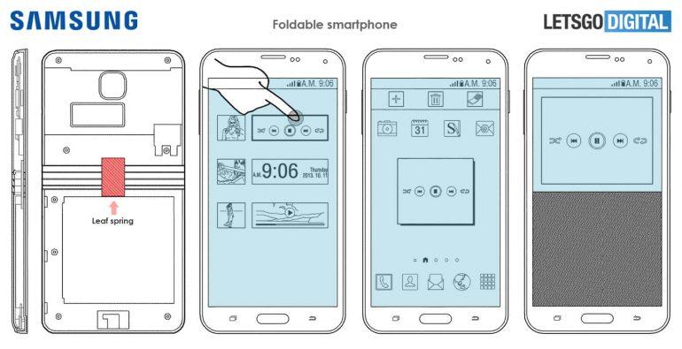 Гибкий смартфон Samsung Galaxy X 4