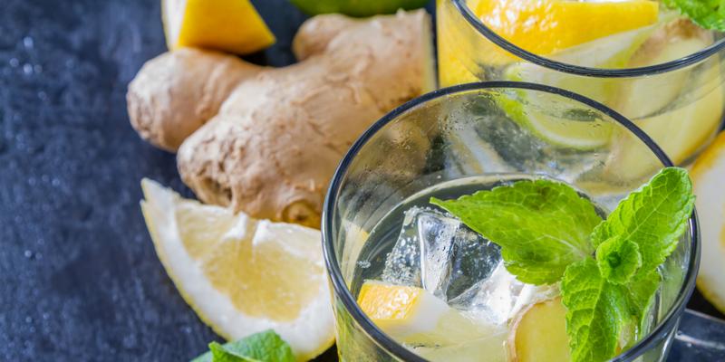 Имбирный лимонад-фото