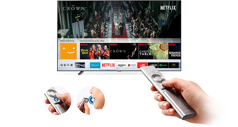 Качество лучше, чем в кинотеатре обзор телевизоров с широкой диагональю - телевизор Samsung