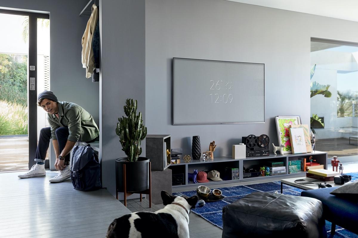 Качество лучше, чем в кинотеатре обзор телевизоров с широкой диагональю - телевизор с большой диагональю в интерьере