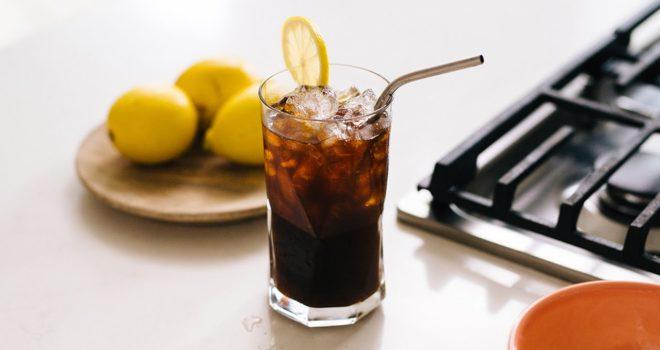 Кофейный лимонад-подача фото 2