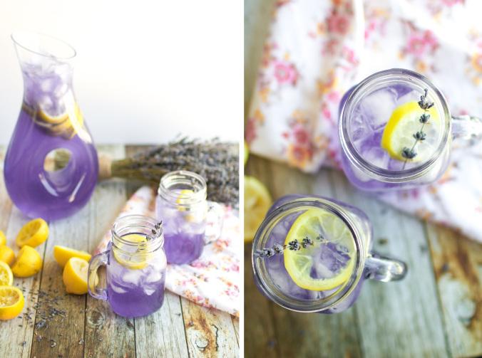 Лавандовый лимонад-как приготовить