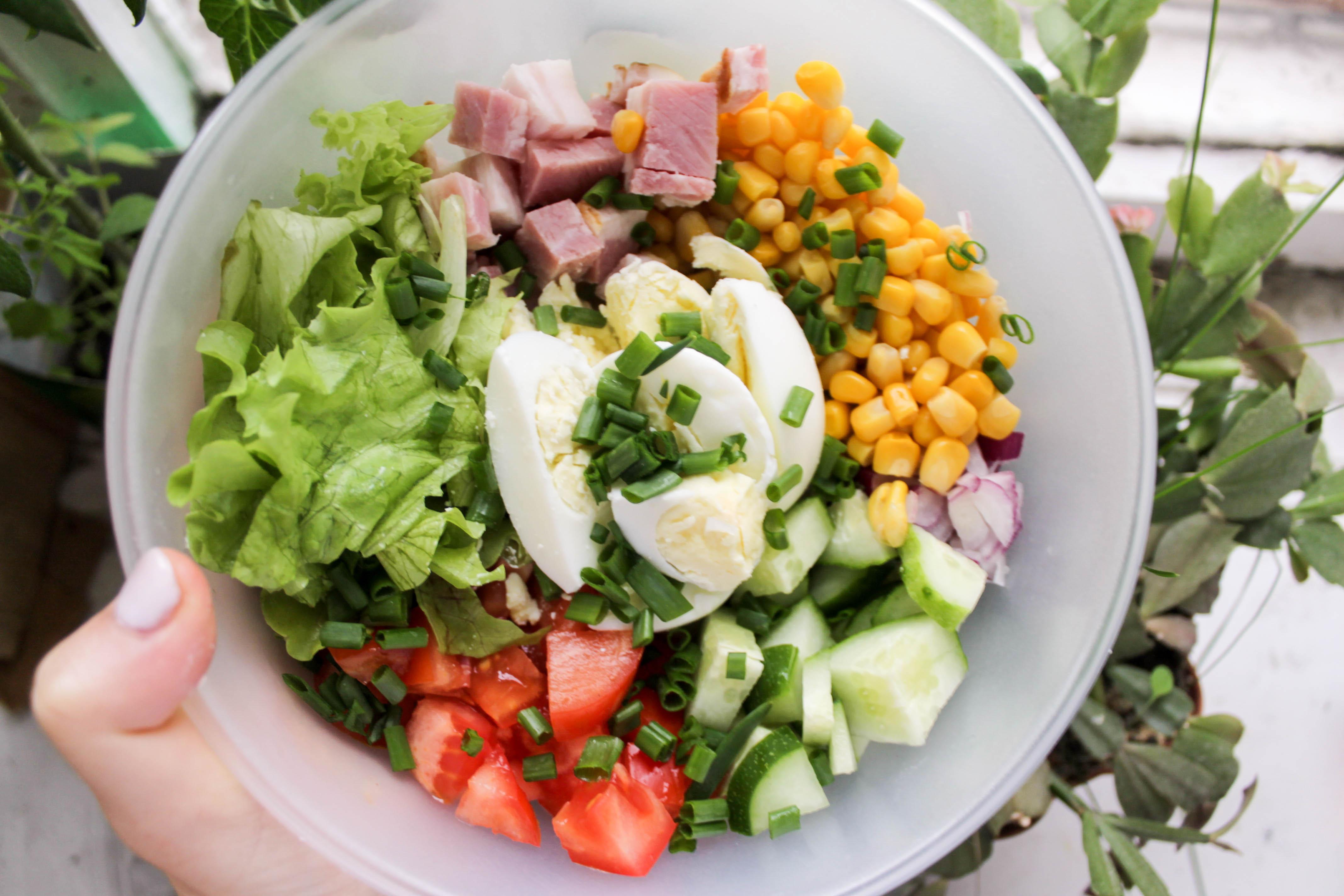 Летние блюда и блендеры что можно приготовить с разными насадками - свежий салат