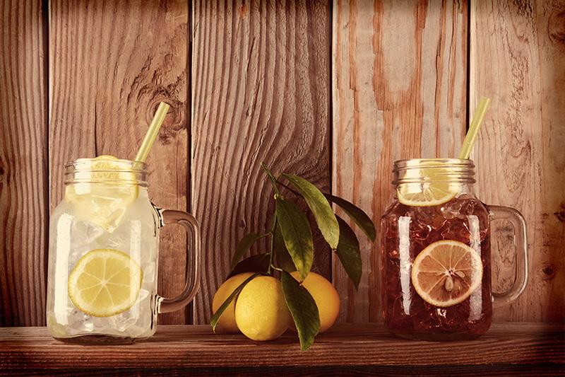 Лимонады-подача в банках