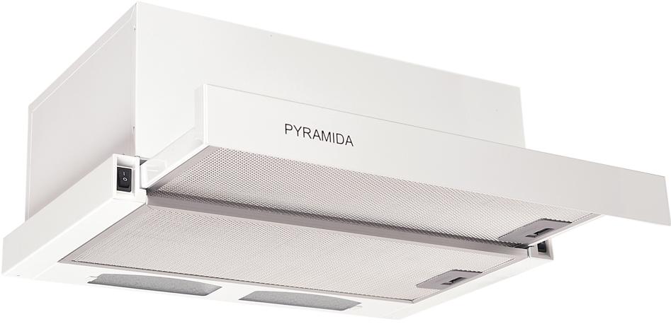 Лучшие встраиваемые вытяжки для маленькой кухни - Pyramida TL 50 WH