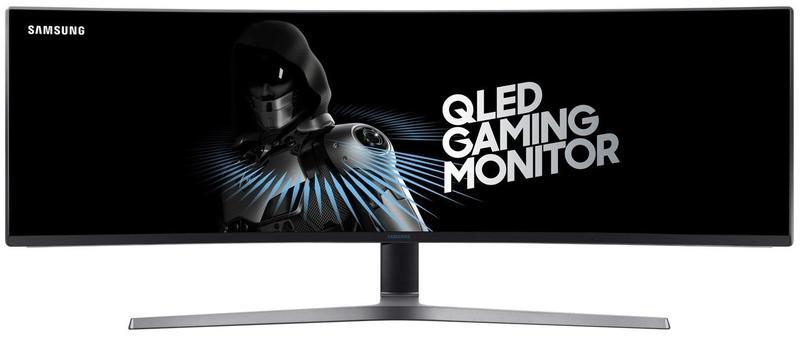 Мониторы, соперничающие с телевизорами модели с широкой диагональю - игровой монитор от Samsung