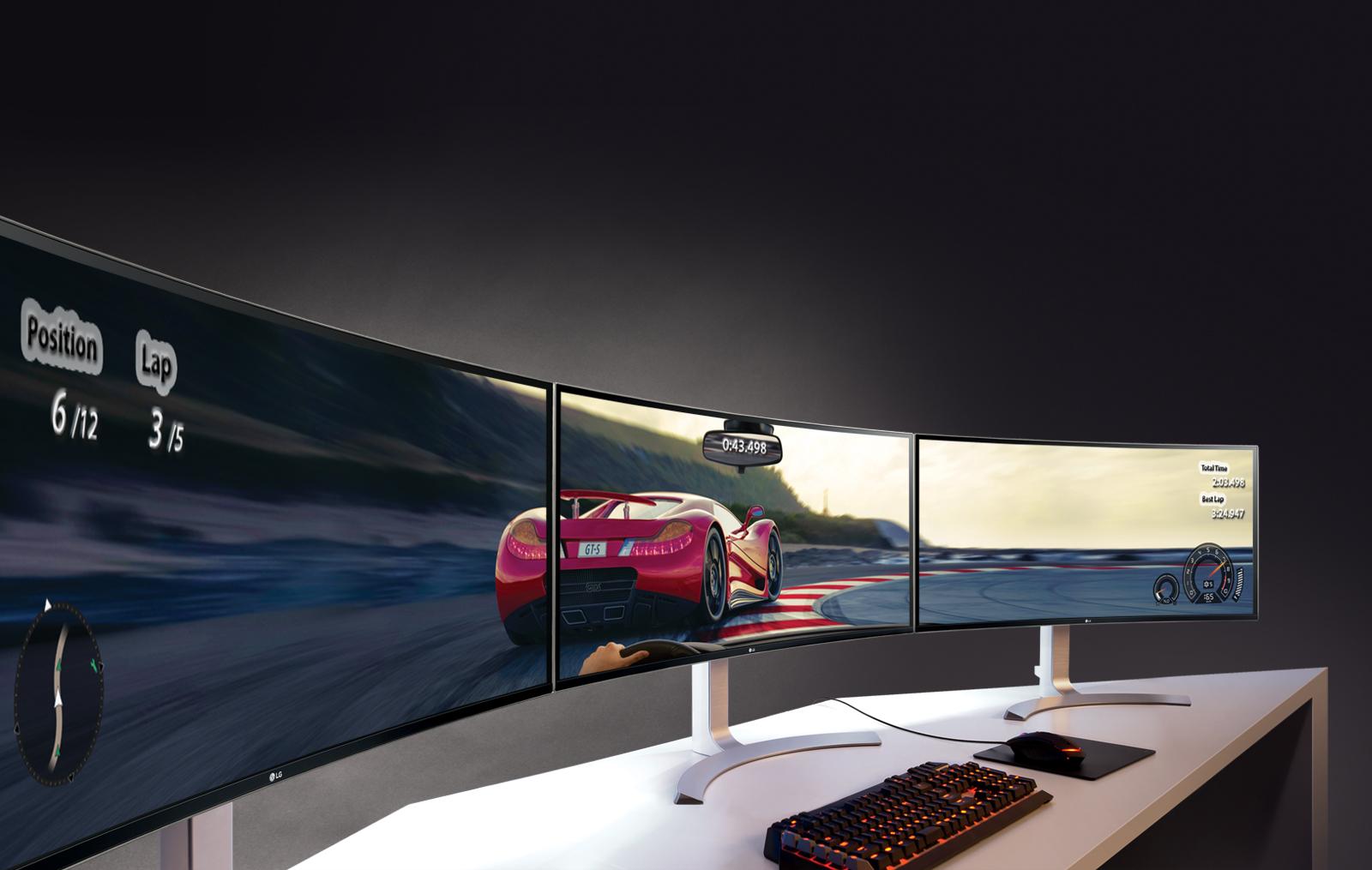Мониторы, соперничающие с телевизорами модели с широкой диагональю - мониторы LG Ultra Wide