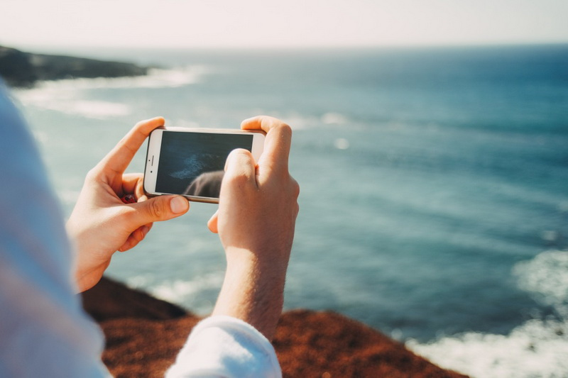 Море-на камеру смартфона