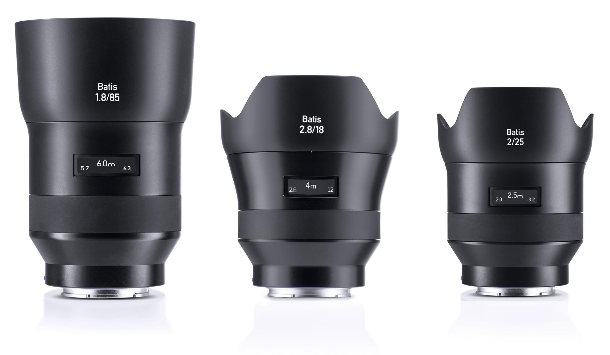 Невероятный объектив Zeiss Batis 240 CF изображения уже в сети - три объектива Zeiss