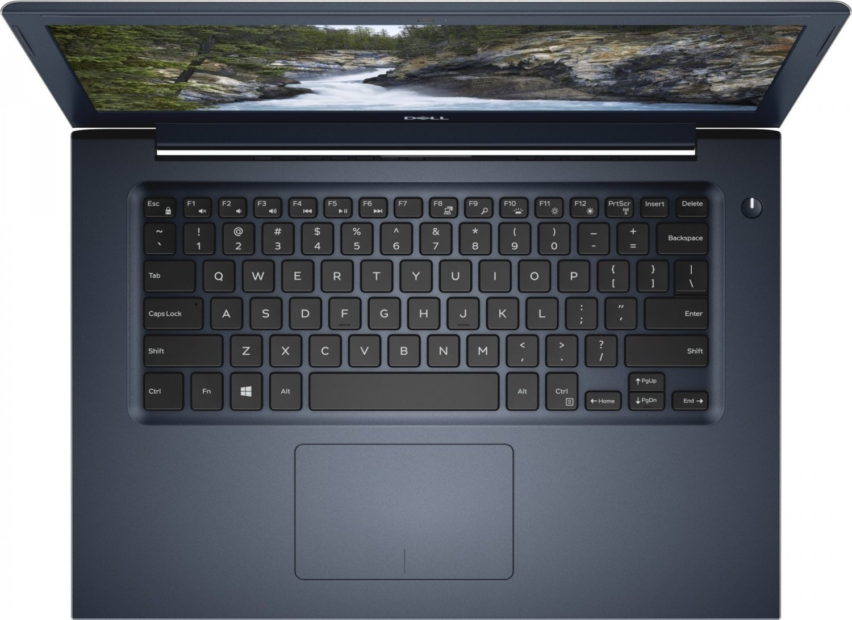 Ноутбук Dell Vostro 5471 - характеристика модели - клавиатура ноутбука