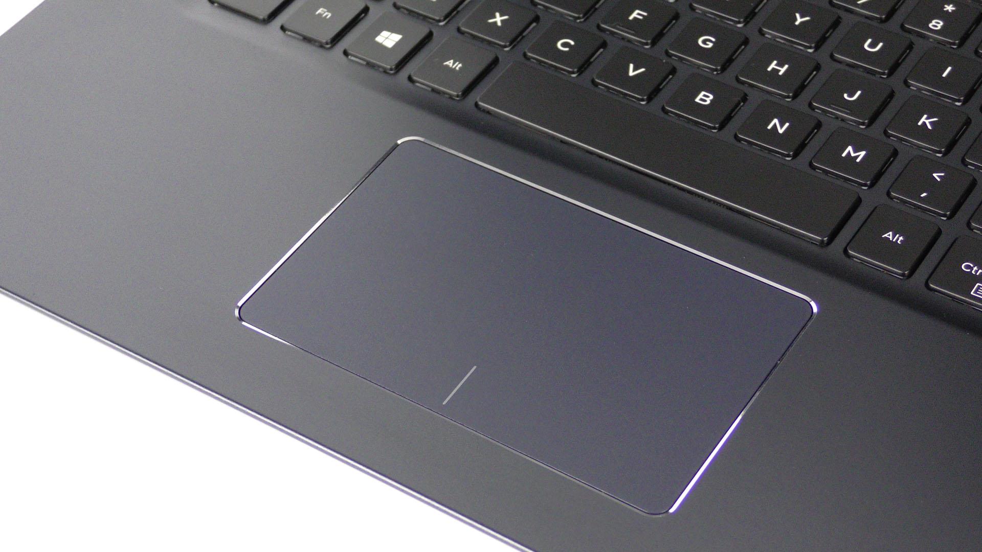 Ноутбук Dell Vostro 5471 - характеристика модели - тачпад ноутбука Dell