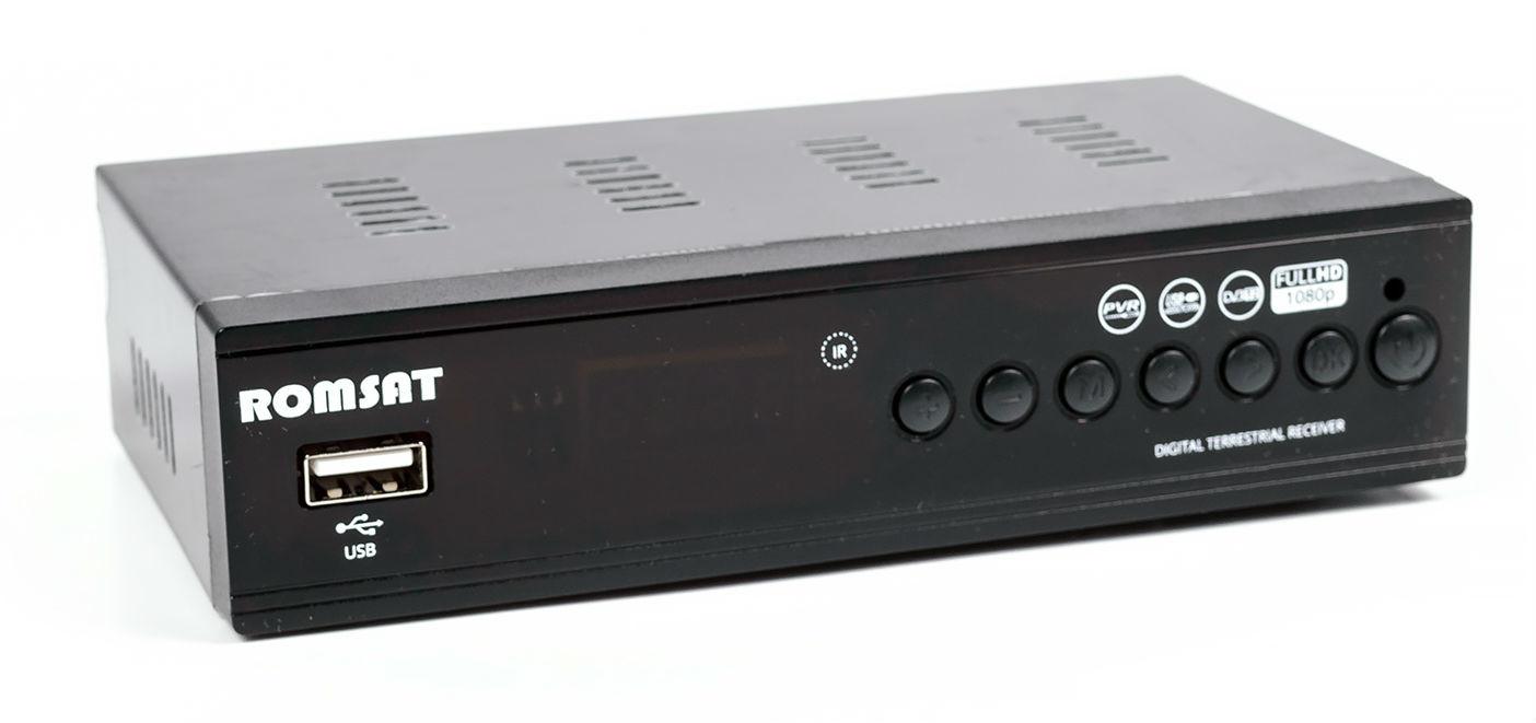 Новое поколение эфирного телевидения_цифровое качество формата Т2 - тюнер ромсат