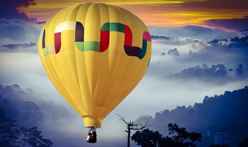 Осуществление мечт-полет на воздушном шаре