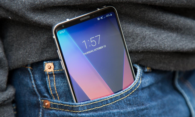 Ожидаемый смартфон LG V40 дата выхода и стоимость - смартфон в кармане