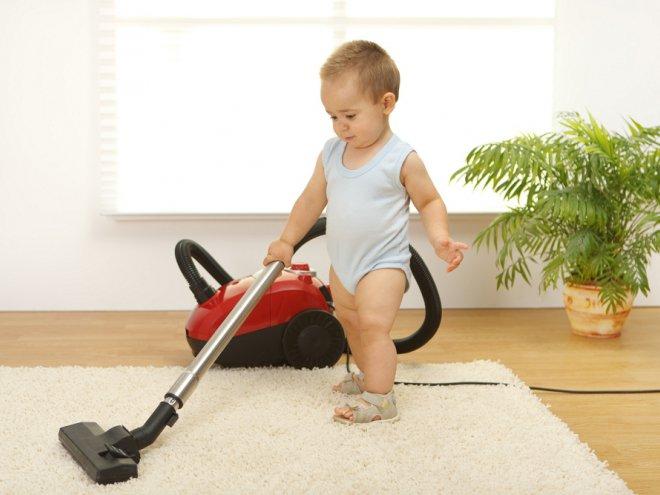 Папка «Фото», Лучшие из лучших - мешковые пылесосы №1. Советы по выбору – ребенок пылесосит.