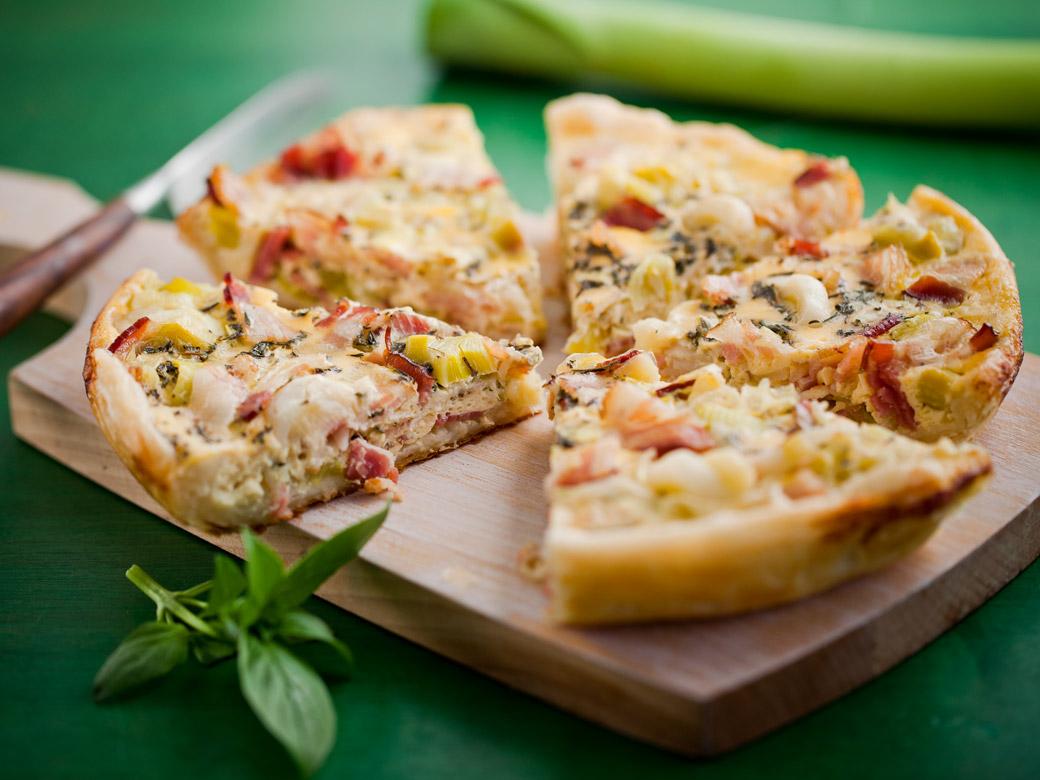 Пицца слоеная