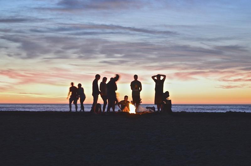Пляж-летняя вечеринка