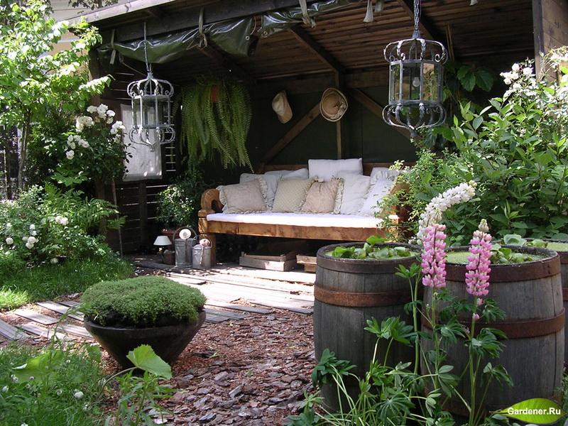 Сад-зоны отдыха