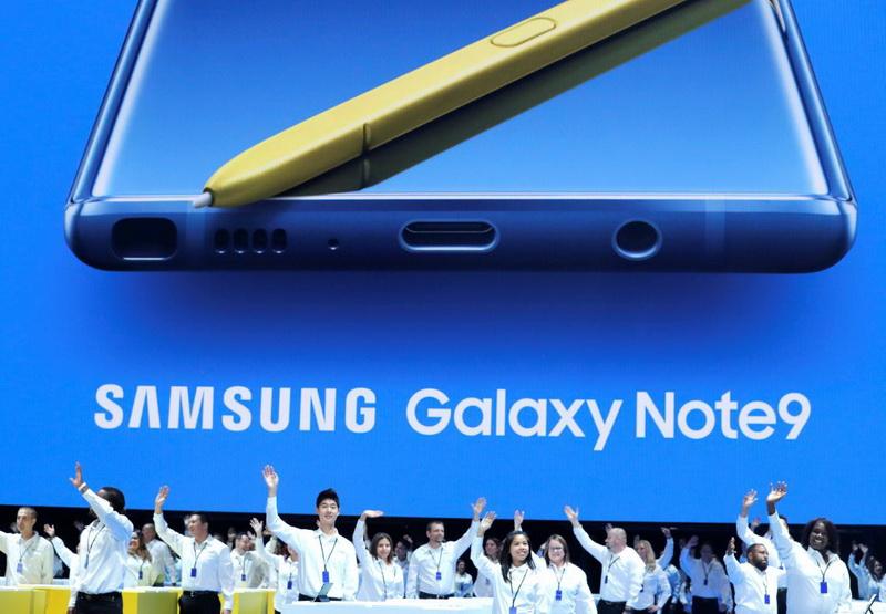 Samsung Galaxy Note 9-фото с мероприятия 1