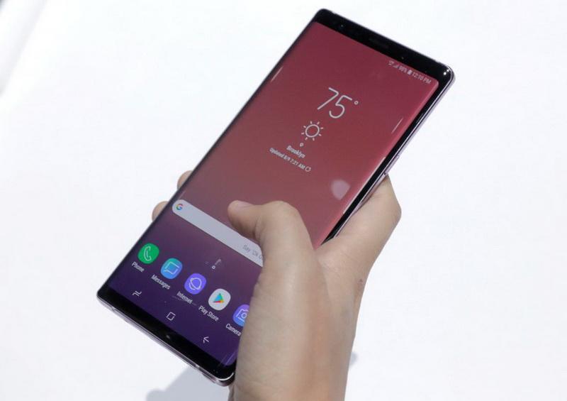 Samsung Galaxy Note 9-фото с мероприятия 10