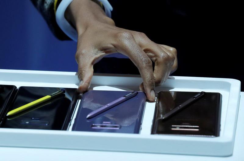 Samsung Galaxy Note 9-фото с мероприятия 11