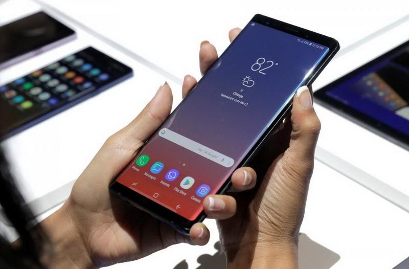 Samsung Galaxy Note 9-фото с мероприятия 12
