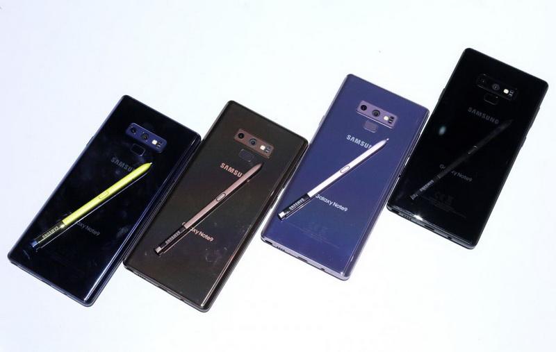 Samsung Galaxy Note 9-фото с мероприятия 2
